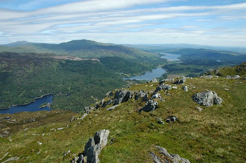 Loch Venachar from Ben Venue