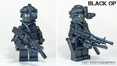 Black op full light (Shobrick) Tags: black amazing lego tiny op custom armory tactical brickarms brickforge shobrick