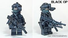 Black op full light (Shobrick) Tags: black amazing lego tiny op custom armory tactical brickarms brickforge shobrick