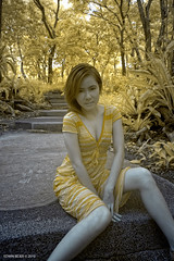 Yap in Infra (SNaBeRo) Tags: sexy beautiful model pretty infrared edwin yap ecopark bejer
