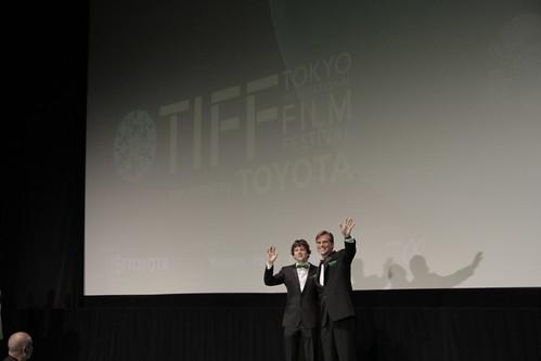 Aaron Sorkin and Jesse Eisenberg