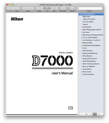nikon d7000 manual pdf now available for download rh dpnotes com nikon d7000 manual focus nikon d7000 manual settings