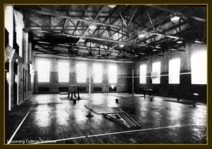 Hilltop gymnasium