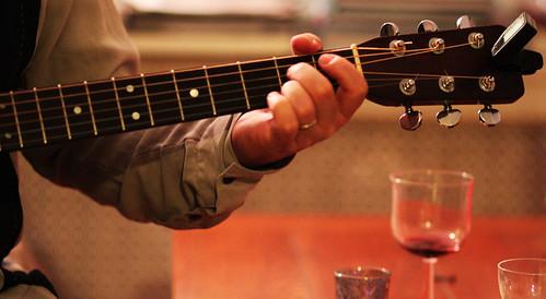 Matt & his guitar