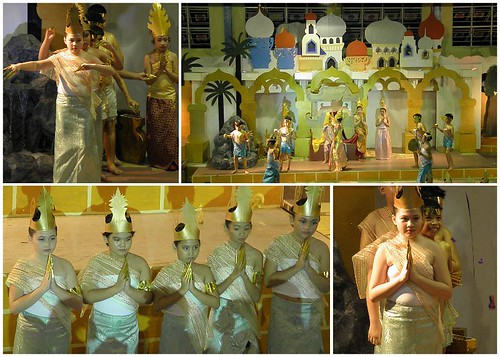 Thailand-dance, Thailand-traditional-costume, UN-celebration