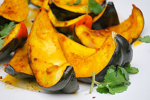 Roasted Chipotle Acorn Squash