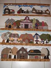 Quilt Japonais 4 saisons (55x65) (zulemyan) Tags: patchwork applique broderie quiltjaponais
