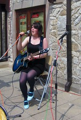 Lucy Ward at Carsington Water (janet7r) Tags: video guitar carsingtonwater folksinger youtube lucyward festivalofthepeak