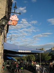 Ice cream, Place Jacques-Cartier, Montreal