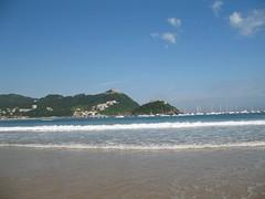 IWANN: Paisaje desde la playa de La Concha