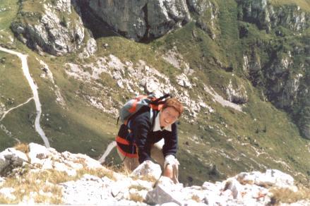 montagna, ferrata, Peralba, fatica, entusiasmo, esempio, coraggio
