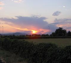 Sunset (zambi74) Tags: travel sunset sky italy sun hp italia tramonto cielo sole vicenza