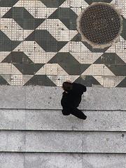 asonasummerday (renedepaula) Tags: city brazil people urban brasil stair saopaulo walk sidewalk sampa plongée