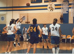 York Central vs. Perry High Girls Varsity Basketball circa 1995