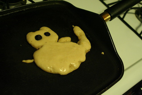 Kitty pancake