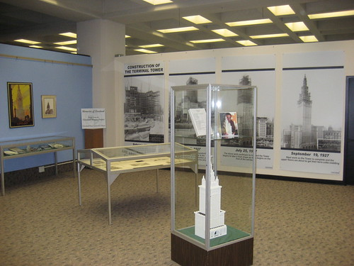 A view of the Fenn College display