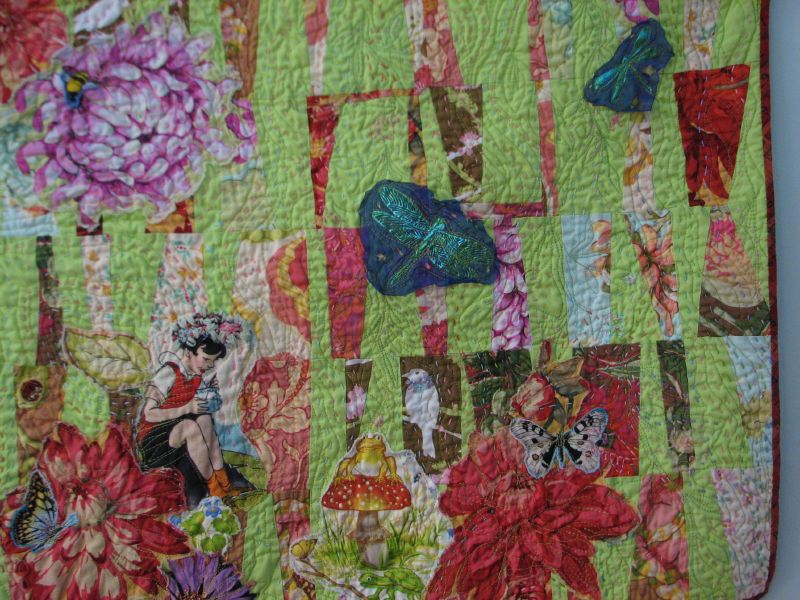 "Doll Quilt Swap II "" Through the Picket Fence"""