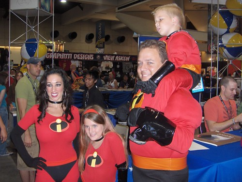 My favorite costumes of the day: The Incredibles