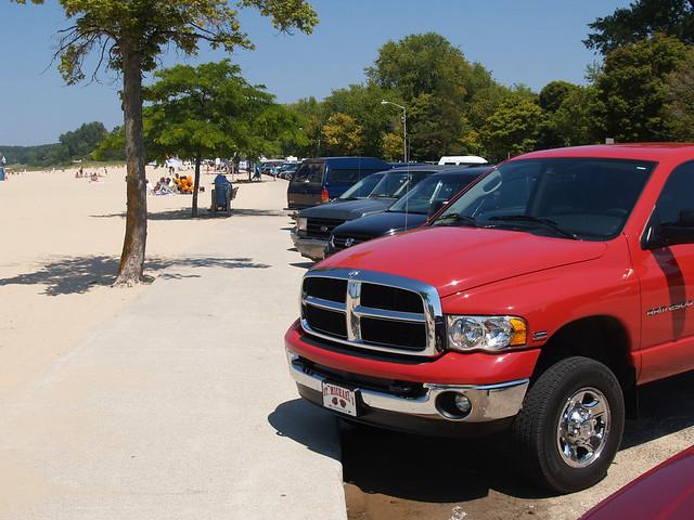 lake beach truck michigan pickup dodge ram ludington ludingtonmi