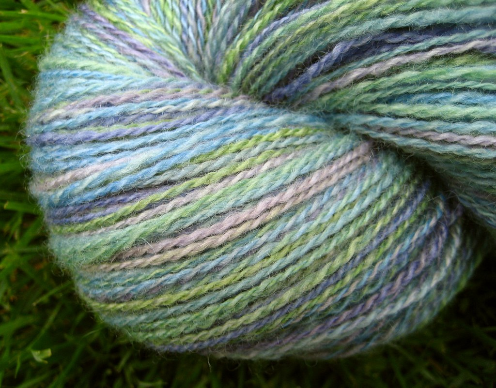 Antigua BFL 2-ply after its bath