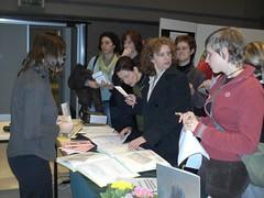 bezoek aan de beursstanden tijdens de algemene vergadering