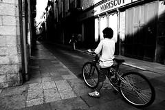 BICI (Marcelo Cugliari) Tags: bw color photo bn catalunya antiguo gerona marcelocugliari
