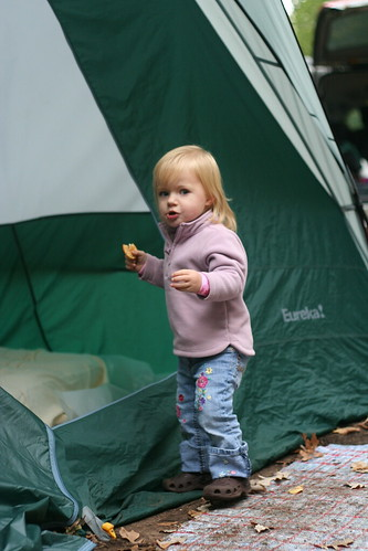 No crackers in the tent!