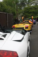 IMG_0944 (Lamborghini obsessed) Tags: paul lamborghini harrington murcielago gallardospyder 5604 lp640 valentinobalboni lp640roadster gallardocoupe dreamcarlegendstour