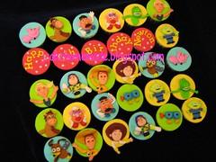 Toy story theme cupcake (Jcakehomemade) Tags: cupcakes toystory buzzlightyear barbie woody pixar bullseye mrpotatohead rex jessy hamm mrspotato slinkydog squeezetoyaliens childrencupcakes charactercupcakes jcakehomemade toystorythemecupcakes