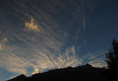 Cirrus clouds over the Alps (TomLiaPhotography) Tags: alps chamonix cirrus