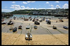 ST Ives harbour (kimlawton) Tags: sea water cornwall britishisles stives kimlawton britishseascapes