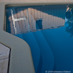 Pool Reflections (Johannes Palmer) Tags: reflection water pool shiny shed mirrorimage