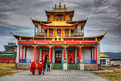 Ivolginsky Datsan buddhist temple (Ulan Ude, Siberia) (Russia)