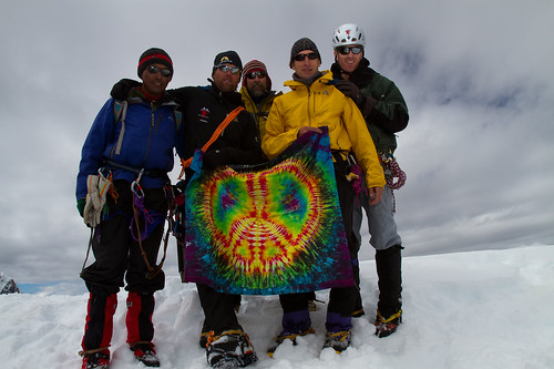 Top of Lobuche