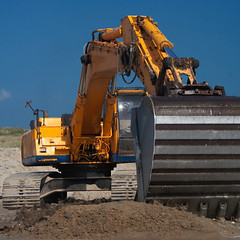 Digger - FGS Plant Hire (by terinea)