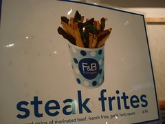 Steak Frites, F&B Gudtfood, Midtown NYC