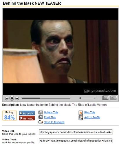 MySpaceTV: Behind the Mask