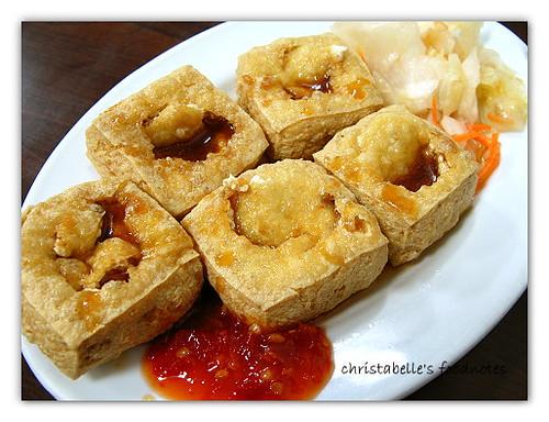 楊記麻辣麵線之臭豆腐