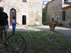 Giochi in giardino
