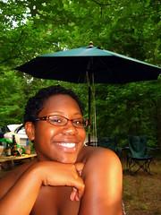 Dottie Dottie Bo Bottie Banana Fanna Fo Fottie (abbyladybug) Tags: green smile umbrella glasses virginia hottie halifax dottie flickrmeetups flickrstock dottiebobottie rsgmeetup20070714 halifaxva dottilou rsgmeetups