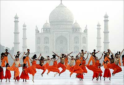 The Taj Mahal, new seven wonders of the world