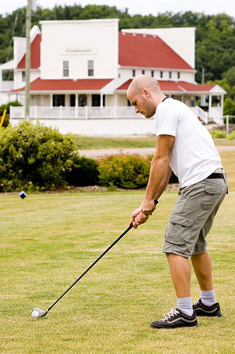Scott Martin at Sand Hills Golf Resort