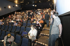 Angelika Theater filled with programmers