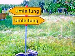 Umleitung (gatowlion) Tags: umleitung