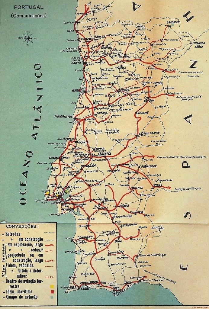 mapa estradas portugal michelin Mapa Portugal   JungleKey.pt Imagem #50 mapa estradas portugal michelin