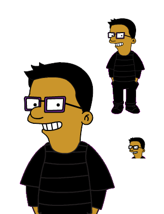 Derek Simpsonized