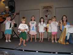 Preschoolers on stage for talent night (v_julye) Tags: pacific meeting 2007 yearly