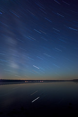 IMGP-0312 (Bob West) Tags: longexposure nightphotography ontario night nightshots brucepeninsula startrails brucepeninsulanationalpark sigma1020mm k10d