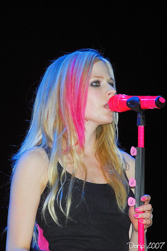 Avril Lavigne Live in Hongkong 2007
