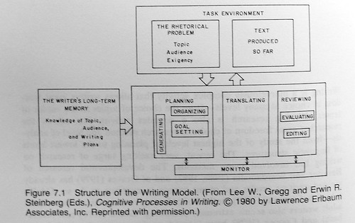 Flower hayes cognitive process theory writing a book
